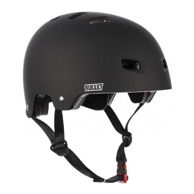 Bullet Bullet deluxe helmet T35 grom matt black xs/s 48-50cm