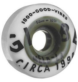 Globe Globe Wheels Good Vibes Dual Pour 54mm Hunter White