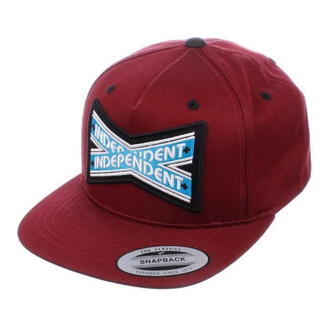 Independent Independent cap Intersect Burgundy black