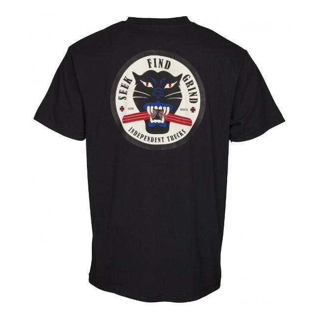 Independent Independent T Shirt Curb Killer Black M ADULT