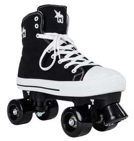 Rookie Rookie rollerskates canvas high black 35
