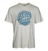 Santa Cruz Santa Cruz T-Shirt Whitecap Vintage White L ADULT
