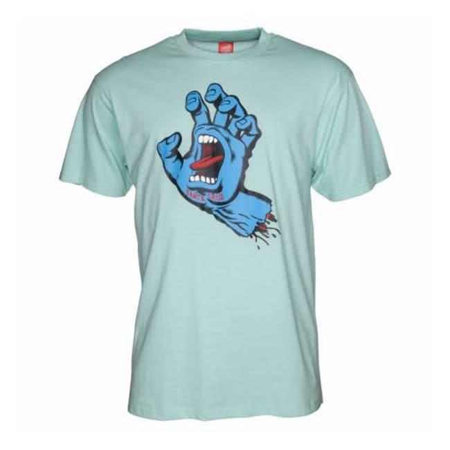 Santa Cruz Santa Cruz Tshirt Screaming Hand aqua XL