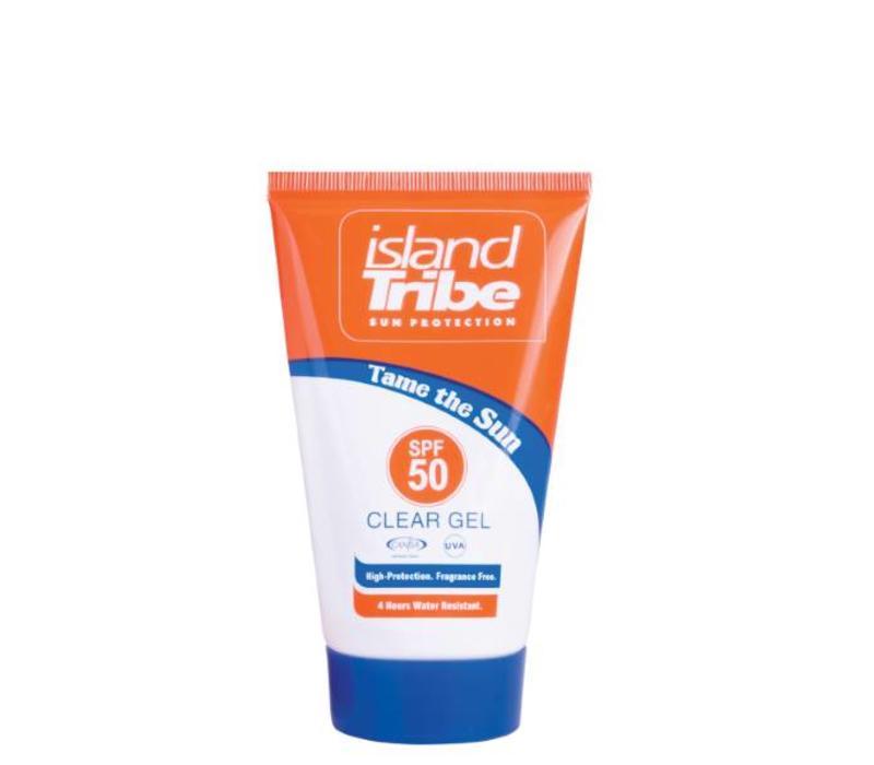 Island Tribe clear gel 50 ml SPF 50