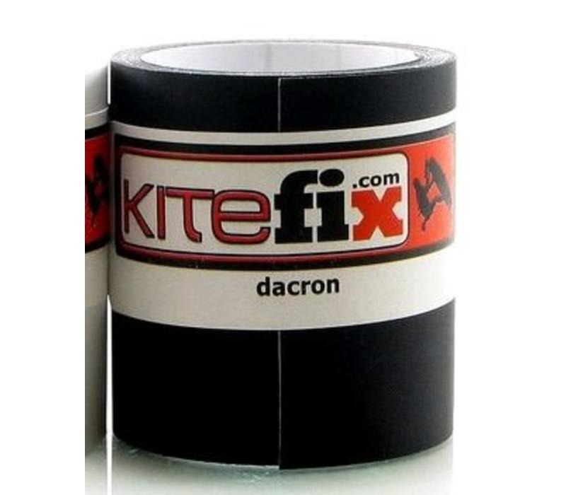 Kitefix Dacron tape zwart