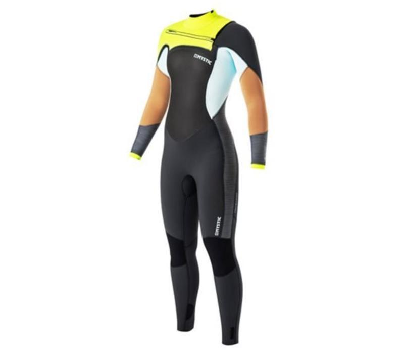 Mystic 2017 Diva 5/3  Frontzip women wetsuit small