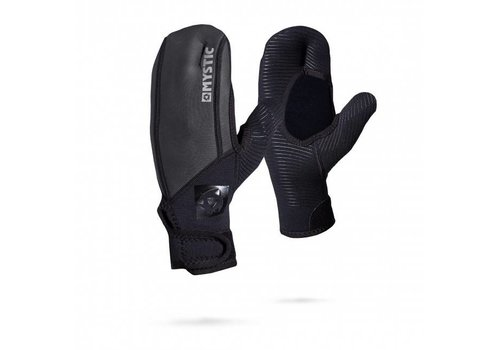 Mystic MSTC - 1,5 mil Open Palm Mitten Black