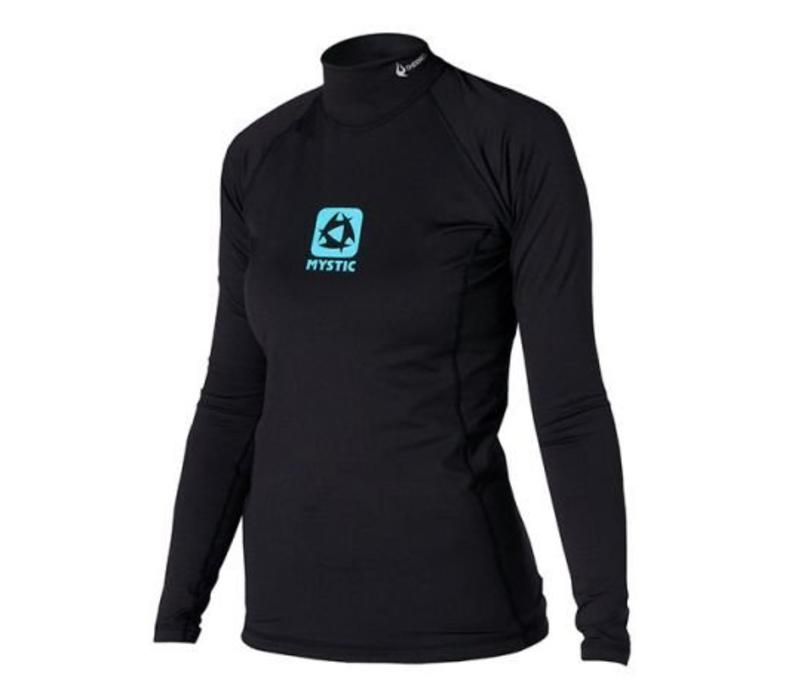 Bipoly Thermo Vest L/S Women Black