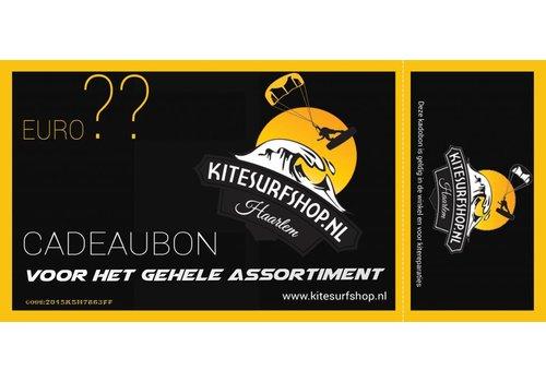 Kitesurfshop Haarlem Kitesurfshop Haarlem Giftcard