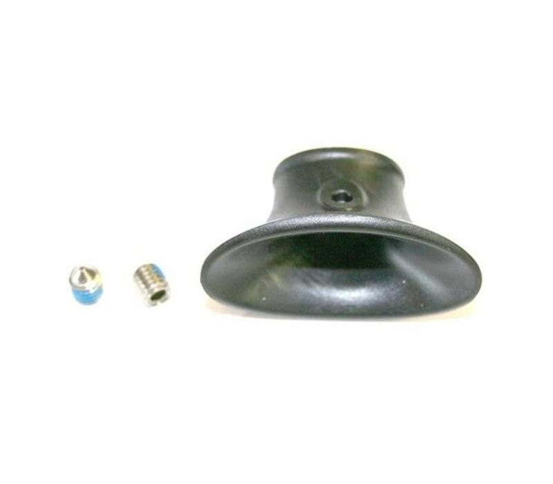 North center part insert single screw