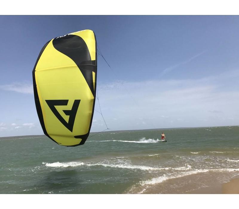 Harlem Kite V2 Yellow/black 5m
