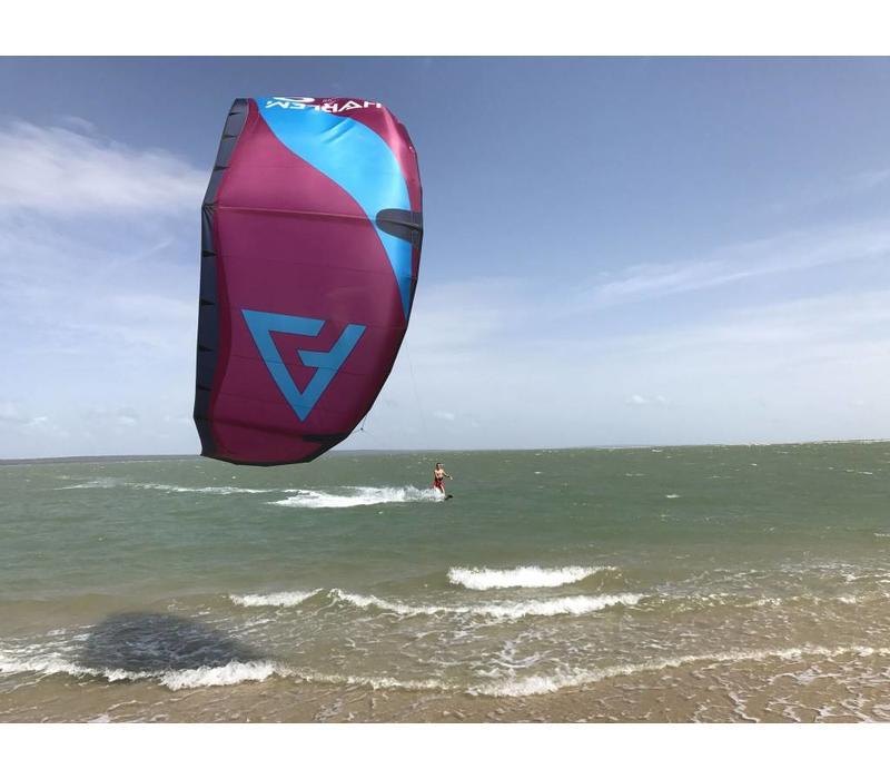 Harlem Kite V2 burgundy/blue 7m