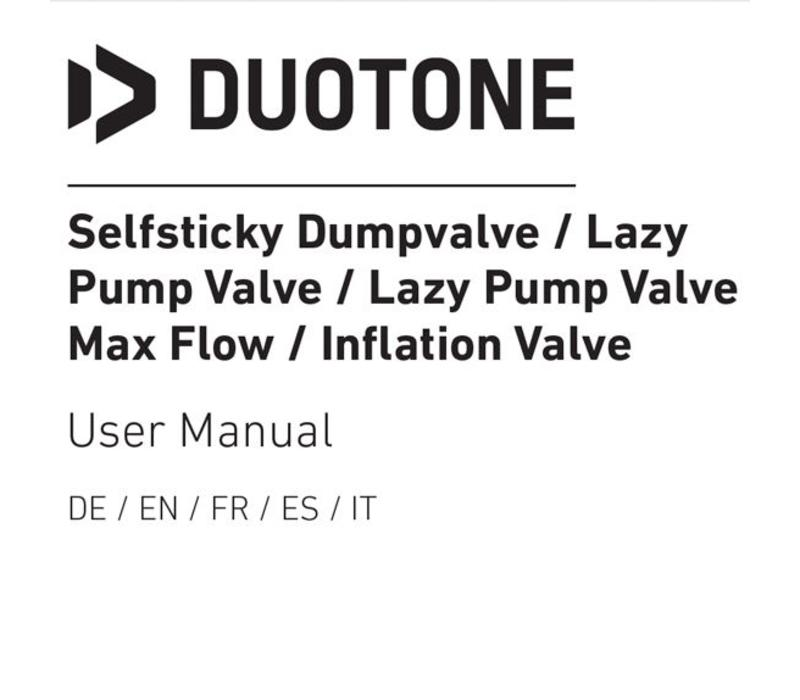 Selfsticky Lazypump max flow valve Angle