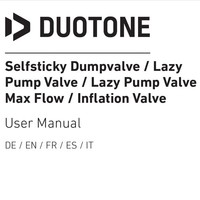 selfsticky Lazypump valve max flow straight