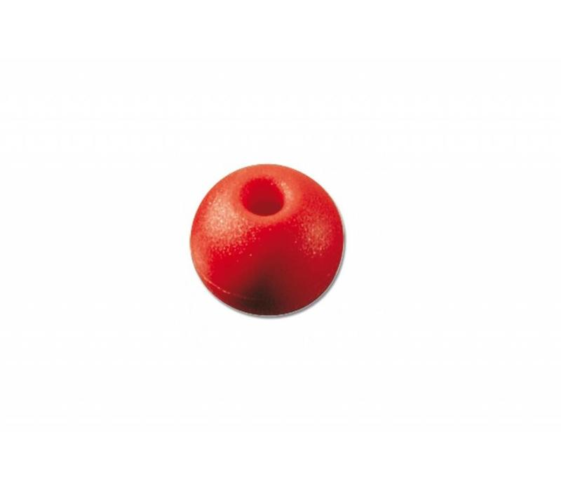 Stopperbal rood