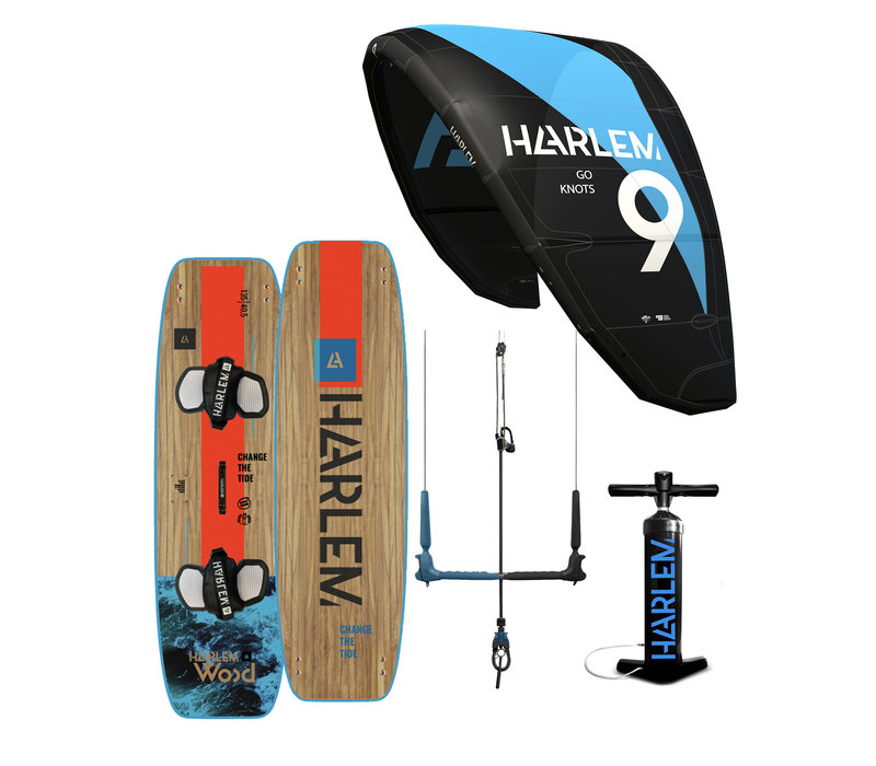 Harlem V3 Kitesurfset