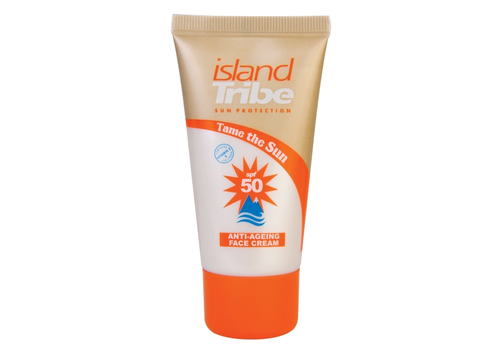Island Tribe Island Tribe SPF 50 ANTI-AGEING MET COLLAGEEN 50ml Oxybenzone