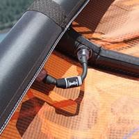 Cabrinha Sprint Tubing & zip ties one pump slang hose