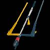 F-ONE Lynx bar 4 Lines 2020