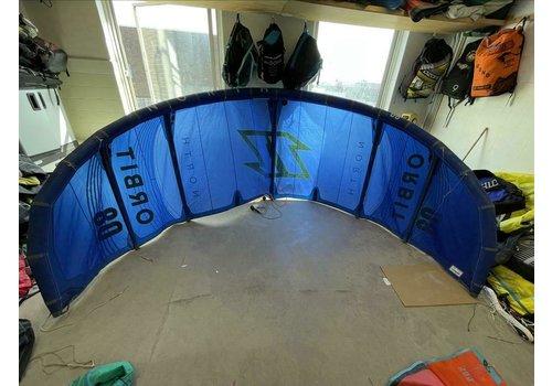North Kiteboarding North Orbit 8m 2021 Ocean Blue -  Gebruikt