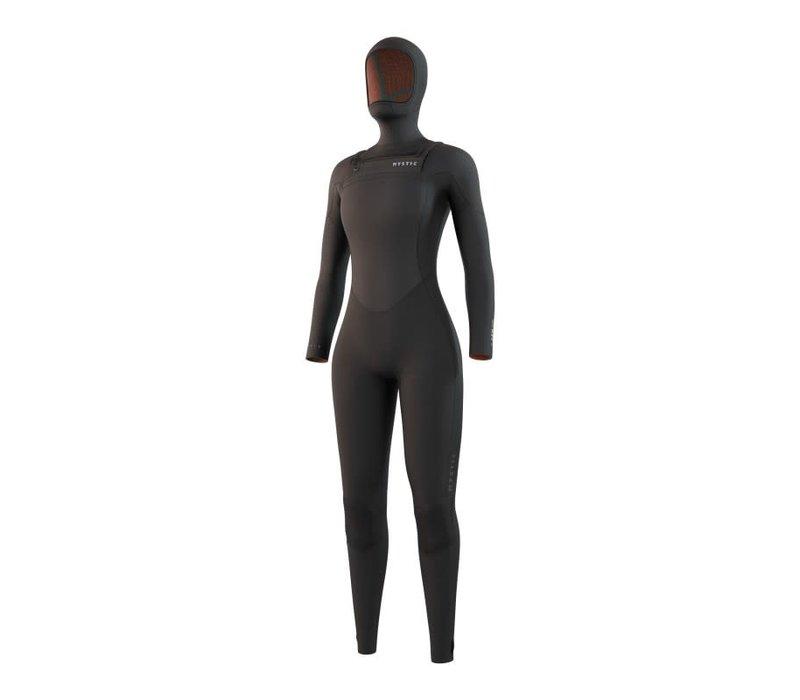 Gem Hooded Fullsuit 6/4/3mm DFzip Women