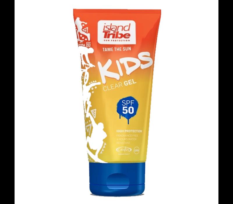 Kids SPF 50 clear gel 50 ml Oxybenzone vrij