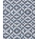 Bougari Buitenkleed - Karo blauw