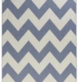 Bougari Buitenkleed - Unique blauw/beige