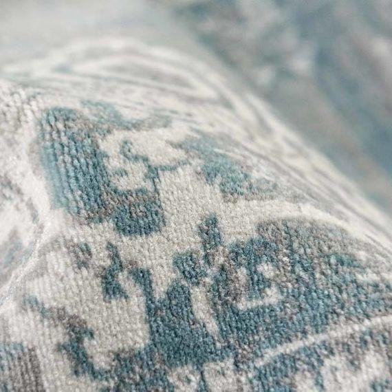 Lifa Living Vintage vloerkleed - Classic Grijs/Blauw