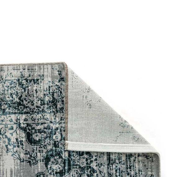 Lifa Living Vintage vloerkleed - Classic antraciet/blauw
