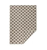 Bougari Buiten vloerkleed - Twin Cubes Bruin/Creme