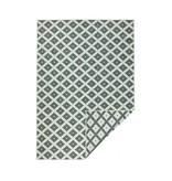 Bougari Buiten vloerkleed - Twin Cubes Groen/Creme