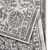Bougari Buitenkleed - Twin Barok Grijs/Creme