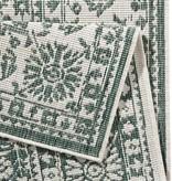 Bougari Buitenkleed - Twin Barok Groen/Creme