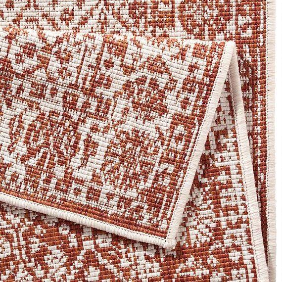 Bougari Buitenkleed - Twin Barok Terra/Creme