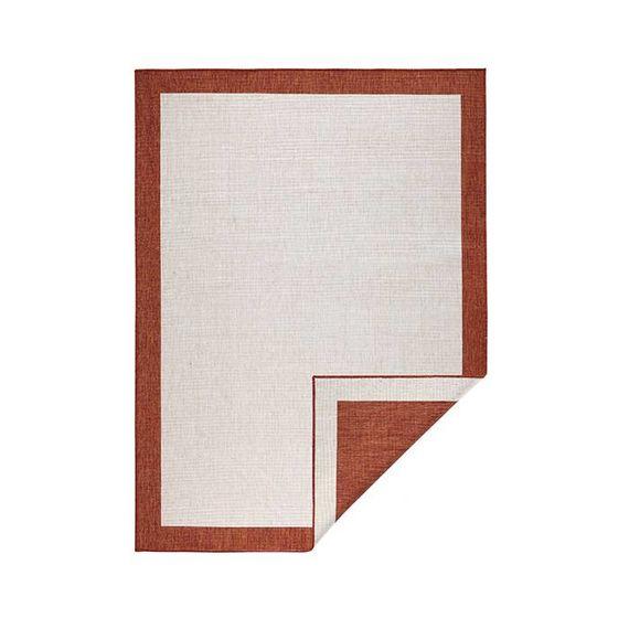 Bougari Buitenkleed - Twin Square Terra/Creme