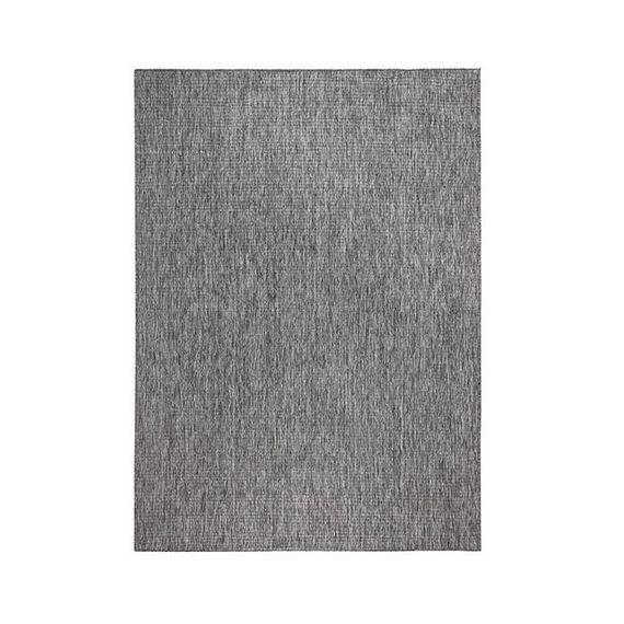 Bougari Buitenkleed - Twin Solid Grijs/Creme