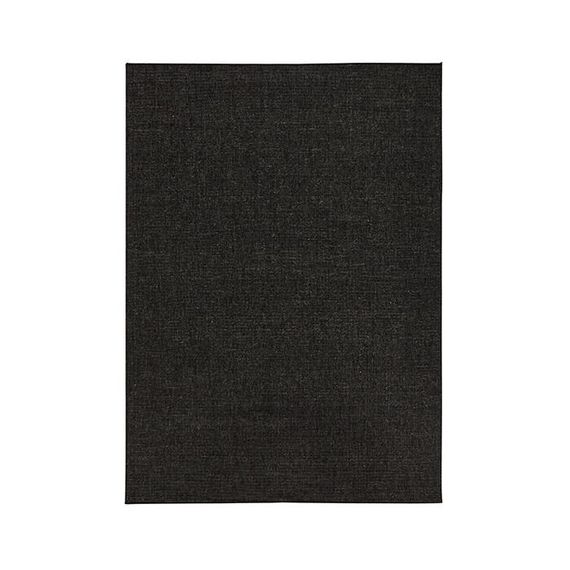 Bougari Buitenkleed - Twin Solid Zwart/Creme