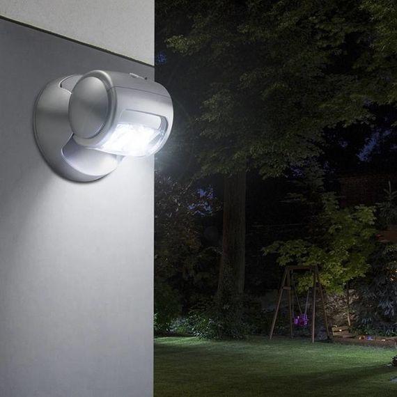 Draaibare draadloze LED buitenlamp met bewegingssensor