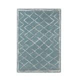 Mint Rugs Hoogpolig vloerkleed - Hamar Diamond blauw/creme