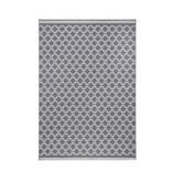 Zala living Modern vloerkleed - Bastille Kring grijs/wit