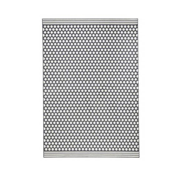 Zala living Modern vloerkleed - Bastille Stip grijs/wit