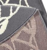 Zala living Rond klassiek vloerkleed - Bastille Ornament grijs/wit