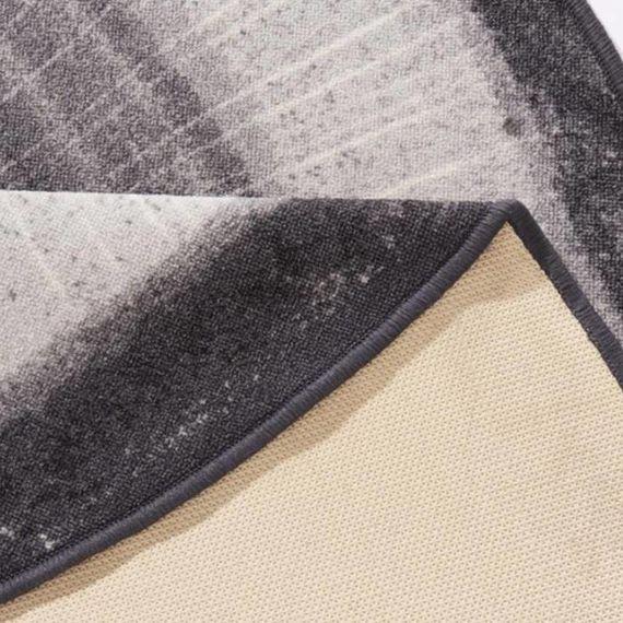 Hanse Home Modern vloerkleed - Bastia Grijs rond