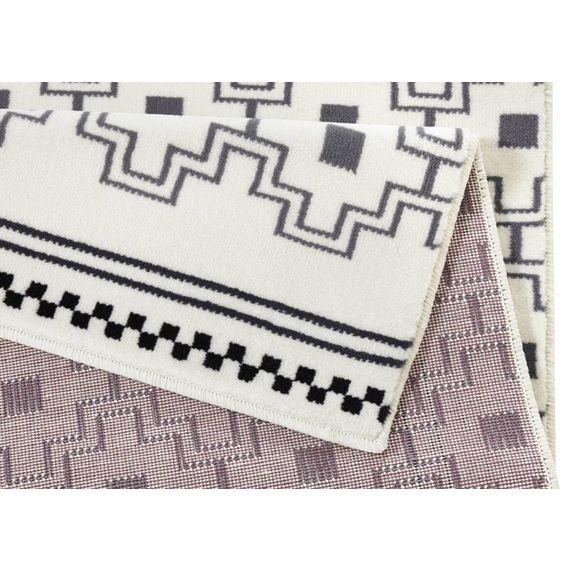 Zala living Modern vloerkleed - Bastille Cube Grijs/Creme
