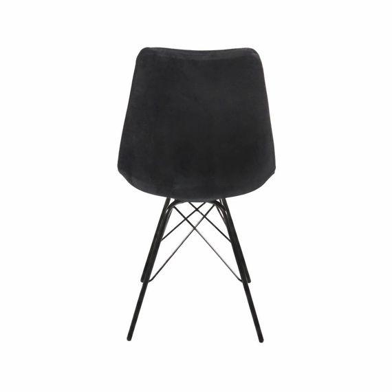 Kick Collectie Stoel Velvet - Zwart