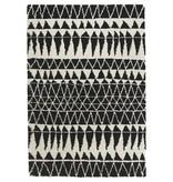 Mint Rugs Hoogpolig vloerkleed - Allure Inspire zwart