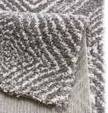 Mint Rugs Hoogpolig vloerkleed - Allure Wire grijs/creme