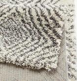 Mint Rugs Hoogpolig vloerkleed - Allure Wire creme/grijs