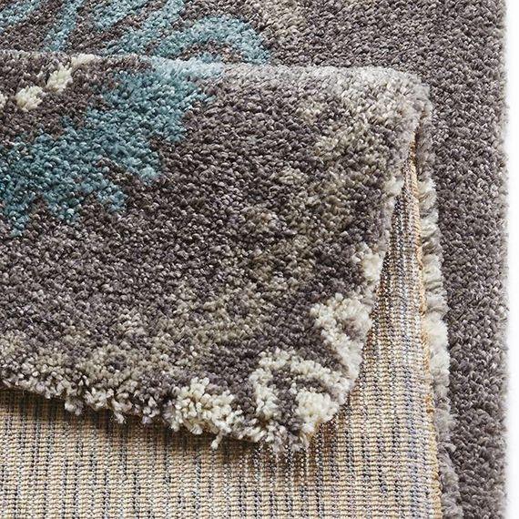 Mint Rugs Hoogpolig vloerkleed - Allure Globe grijs